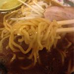 味の大王 - 西山製麺っぽい仕上がりだが不明。誰かラーメンマニアの方教えてー♪«٩(*´ ϖ `*)۶»
