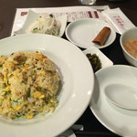 北浜 上海食苑 - ミックス点心定食(点心は後で)