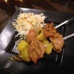 カーリースパイス - タンドリーチキンと野菜のブロシェット^Q^