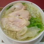 銀座 City Noodle 本丸亭 - 蒸し鶏塩ヌードル