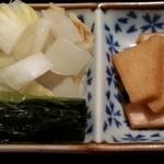 梓川 - お漬物 2016.1