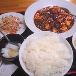中国料理 龍  - 麻婆豆腐定食