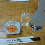 とんかめ - 2016/01/22 12:40訪問 冷酒(北の誉)¥650