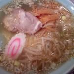 46705183 - 「塩ラーメン・細麺(650円)」[平成28年1月23日(土)撮影]