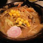 ふくやラーメン - 野菜ラーメン(ハーフ):580円