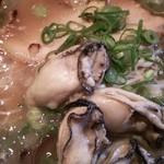 さんや - (2016.1.23再訪)牡蠣バターらーめん 900円