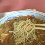 尾瀬高原ホテル - 麺アップ