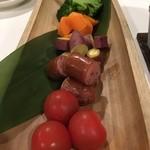 Natural 和 dining わしん - チーズフォンデュの具