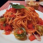 チロル - 冷たいトマトのフェデリーニ