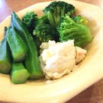 ビッグボーイ - おかわり野菜