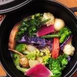 ビストロ・アヴリル - 冬野菜のエテュベ 柚子風味 ¥900