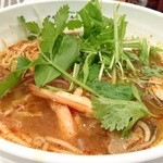 パパイヤリーフ東京 - トムヤンクンスープ麺