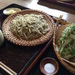 そば家 和味 - 野菜天ぷら付せいろ(1,380円)★★★★☆