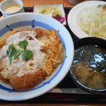 かつ平 - 料理写真:煮込みカツ丼ランチ(ロース)