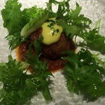 46713023 - 前菜 オマール海老と百合根のクロケッタ
