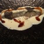 46713028 - 前菜 千代幻豚と白菜のミルフィーユ仕立て
