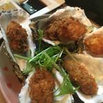 新宿牡蠣入レ時 - 牡蠣フライ 990円 美味、もっと食べたかったー!
