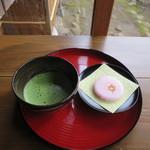 香下庵茶屋 - 抹茶(干菓子付)