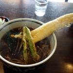 井乃上 - 料理写真:穴子天そば