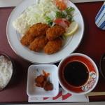 ラ・サラサ - 料理写真:カキフライ定食:税込1100円