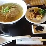 Gurimpakudaisengorufukuraburesutoran - 2015.12ラーメン定食