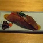 46715074 - 肉の寿司が最高に美味かった