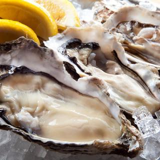 日本一の厚岸産牡蠣!一年中生で食べられます!