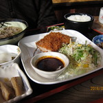 46719039 - 味噌かつ定食1400円