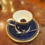 保久良珈琲店 - レアチーズケーキはカップに入っていることも♫