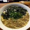 とり坊 - 料理写真:あっさり塩麺‼︎ こりゃうまい。