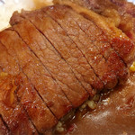 フラヌール - ステーキカレーはランチタイムのみ¥1,400→¥1,150のランチメニューで30食限定です。