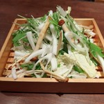 江戸料理 西麻布 ひで - しゃぶしゃぶの野菜