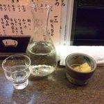 設楽 - 新酒は硝子のデキャンタで