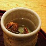 日本料理 菱沼 - ふぐヒレ酒