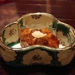 日本料理 菱沼 - 河豚の皮と煮こごり