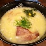 ひるがお - 料理写真:鶏白湯らーめん 780円