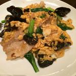 Ronfuushaorontan - キクラゲと卵