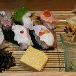 新潟 食楽園 - 炙り寿司