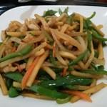 楽口福 - 青椒肉絲