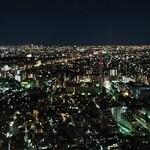 鮨たか 下高井戸旭鮨総本店 - ガーデンプレイスからの夜景