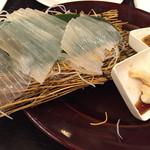 sakabasammaruni - イカの刺身