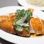 威南記海南鶏飯 - チキン部分あっぷ