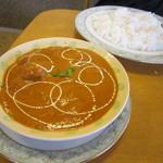 インディアン・レストラン ロタ - チキンカレー&ライス(バスマティMIX)