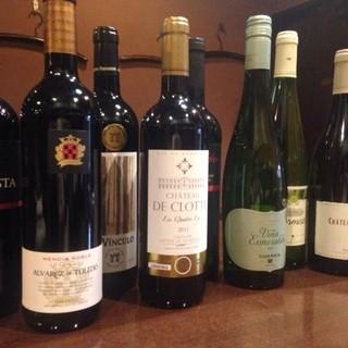 値段以上の味わいのワインたち