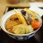 新潟カツ丼 タレカツ - 野菜タレかつ丼
