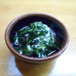 わたり - 海藻の酢の物