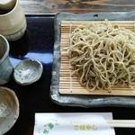 蕎麦切り こばやし - 十割蕎麦(メニュー外)