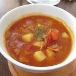 カフェ ハル サクラ オカモト - 本日のスープ:ミネストローネ