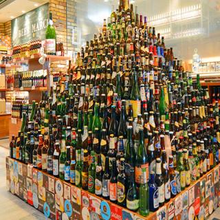 世界各国のビールを揃えております!!
