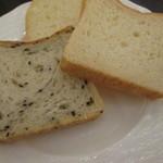 ロビーラウンジ「ゆう」 - パン(5種のうち3種)